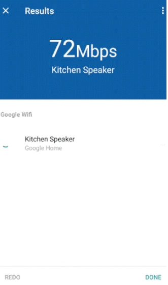 Google wifi network check