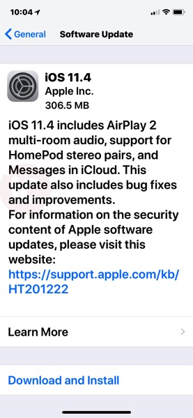 Ios 11 4 download