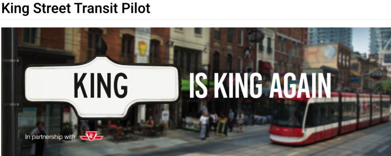 King street pilot