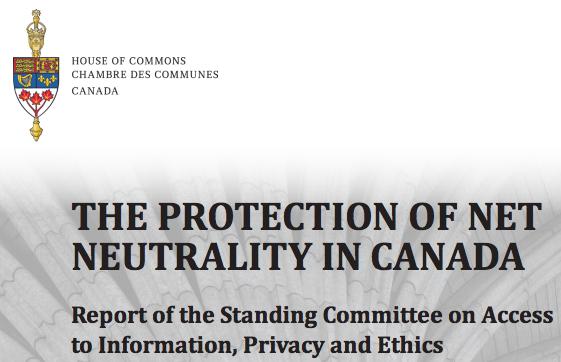 Net neutrality canada