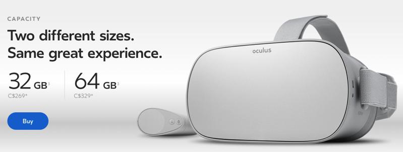Oculus go canada