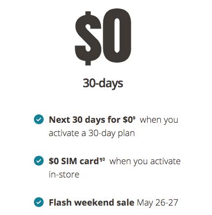 Public mobile 30 days
