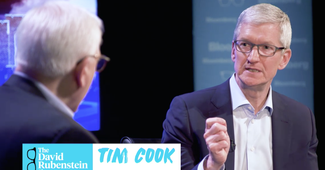 Apple CEO Tim Cook Talks Steve Jobs, Apple Park, and POTUS in New