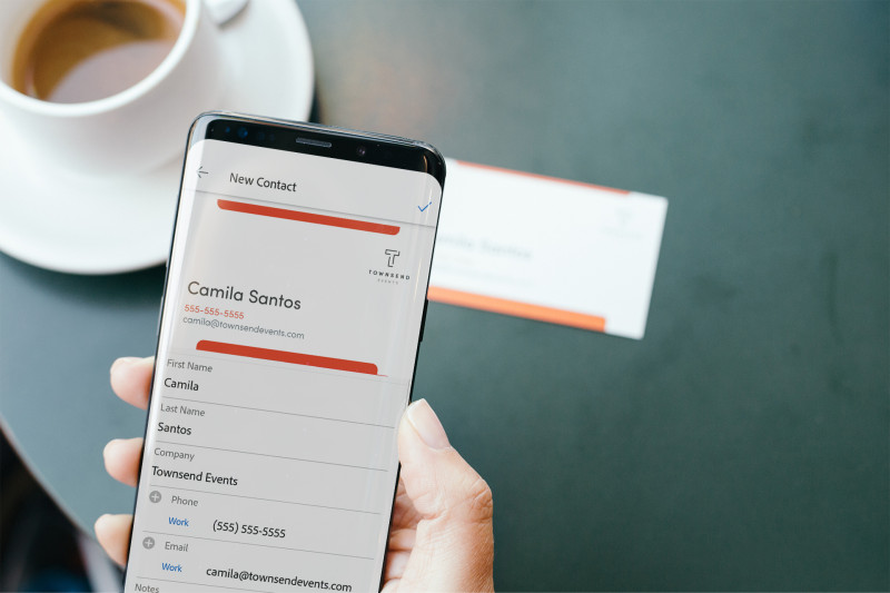 Adobe scan for ios can now recognize emails on business cards with adobe scan for ios can now recognize emails on business cards with 99 accuracy colourmoves