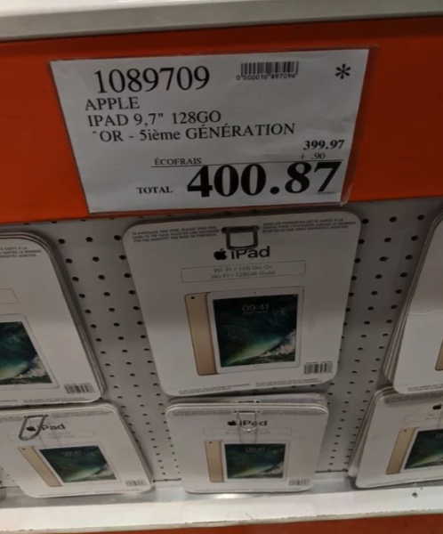 Costco ipad clearance