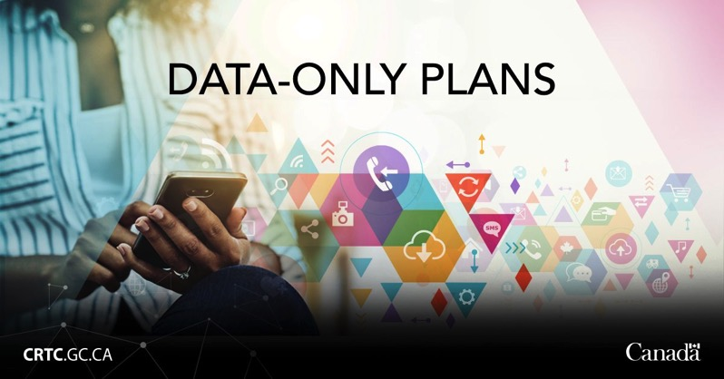 Data only plans CRTC