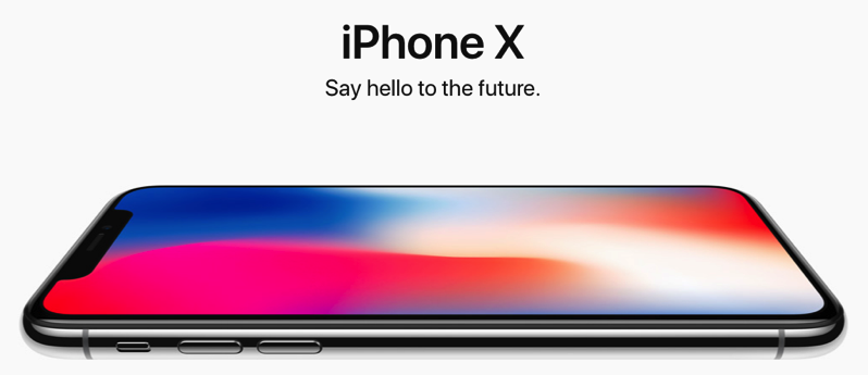 Iphone x hero
