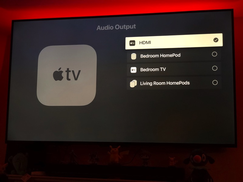 TvOS 12 beta homepod