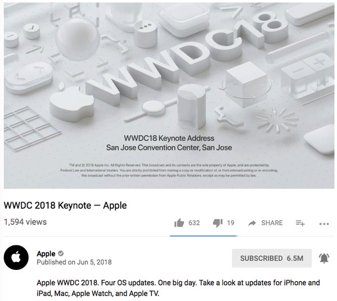 Wwdc 2018 youtube