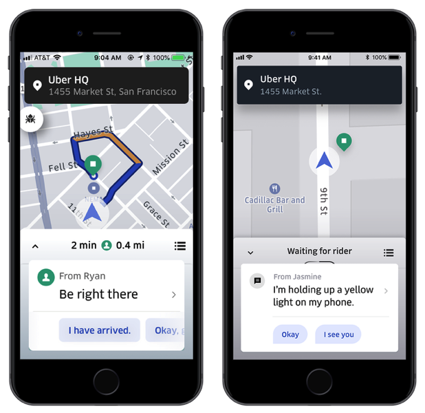 Uber update adds features to make pickups less annoying