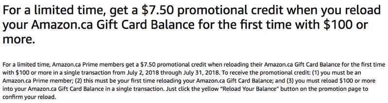 Amazon credit promo