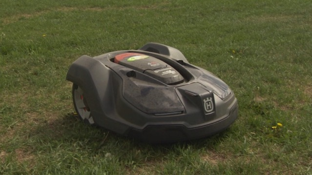 Automated lawn mower 2