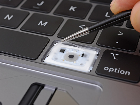 iFixit Teardown Reveals Silicone Dust Covers in 2018 MacBook Pro Keyboard