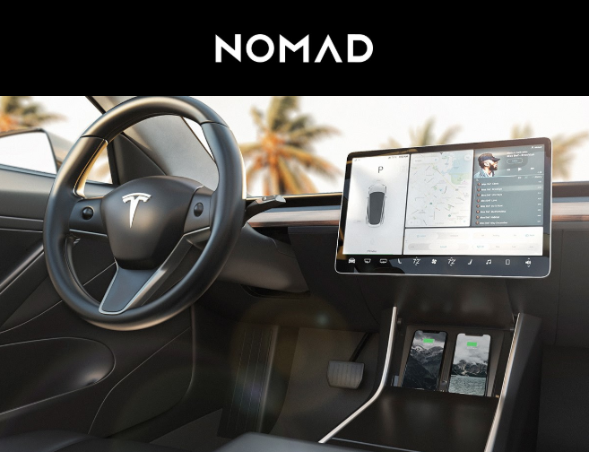 Nomad tesla model 3 charger