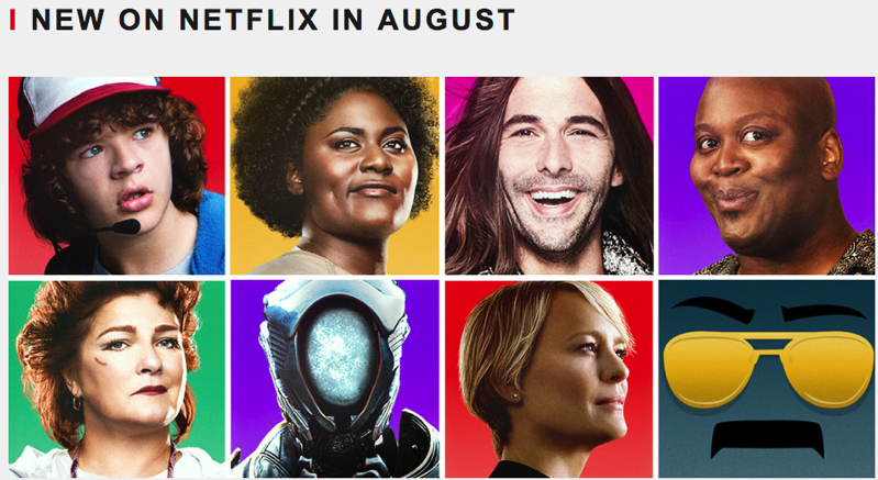 Whats new netflix canada august