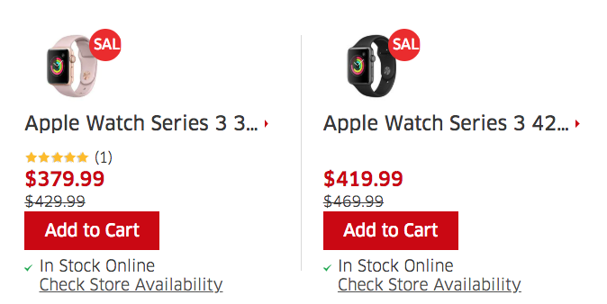 Apple watch series 3 the source