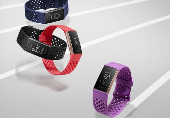 Fitbit Unveils Charge 3 Swim-Friendly Fitness Tracker ...