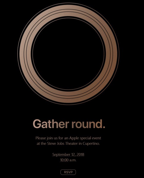 Apple sends out invitations for the new iPhone event on September 12