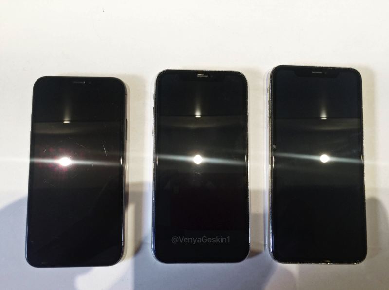 Iphone x line up front