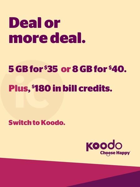 Koodo deal public mobile