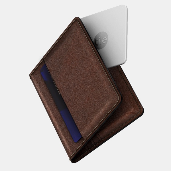 Nomad tile slim wallet