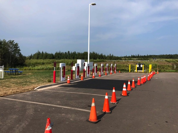Tesla aulac supercharger