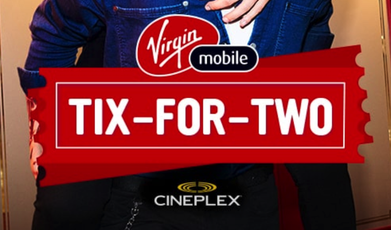 Virgin mobile tix for two