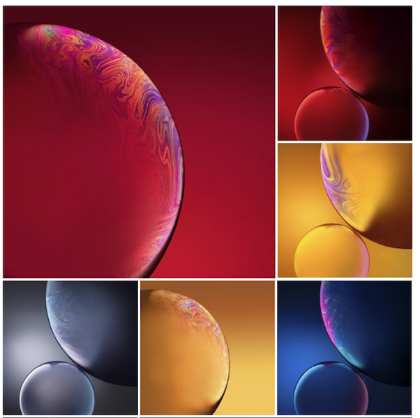 Download All The New Wallpapers Added In Iphone Xs Xs Max