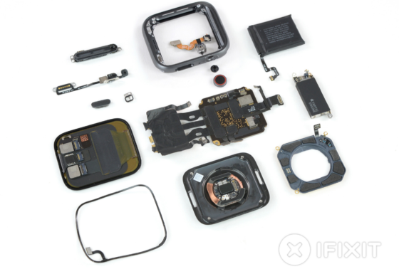 iFixit Teardown of Apple Watch Series 4 Reveals Bigger Battery, Streamlined Internals