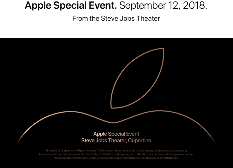 Apple special event replay 2018