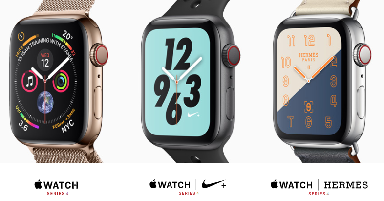Apple watch line up new