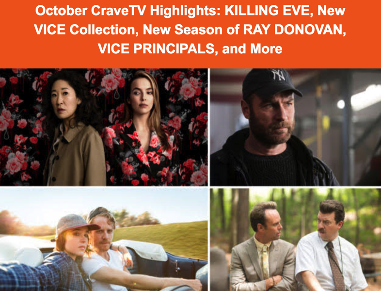 Bell cravetv what s new october