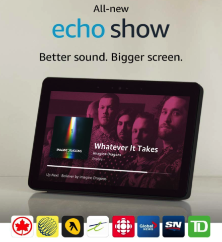 Echo show new