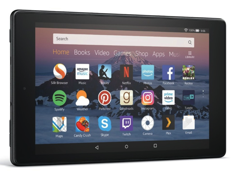 Amazon announced a new version of the $80 Fire HD 8 tablet