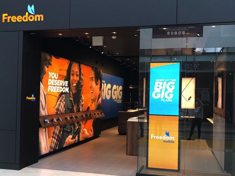 Freedom mobile store