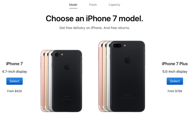 Iphone 7 price drop canada