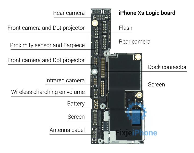 Iphone xs logic board