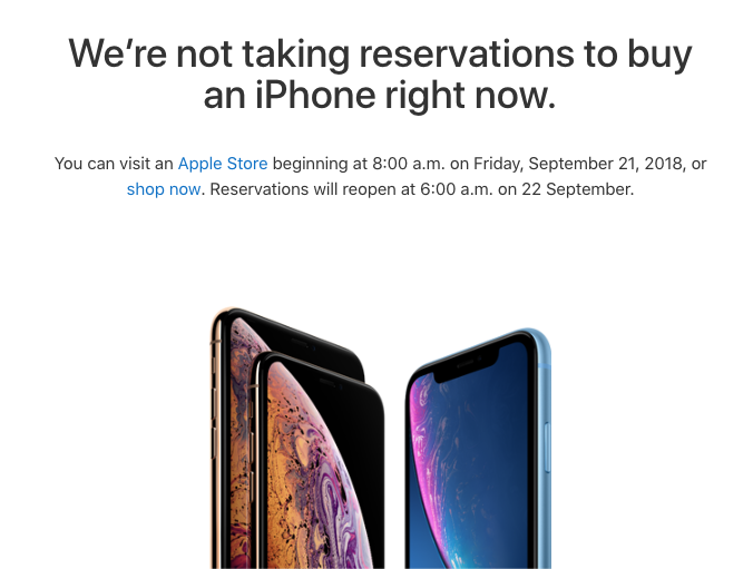 Iphone xs reserve pick up canada