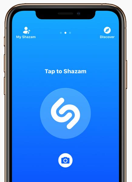 Shazam apple