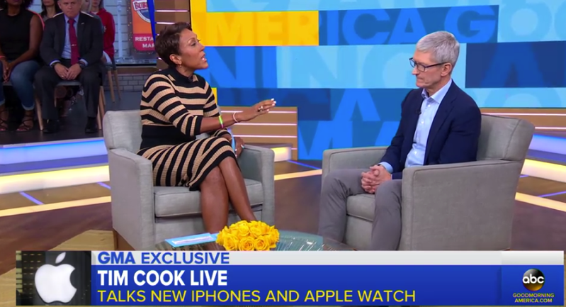Tim cook abc good morning america