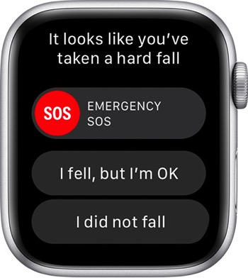 Watchos5 emergency services fall alert