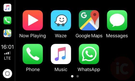 Here?s What Waze Looks Like Running on Apple CarPlay [PICS]