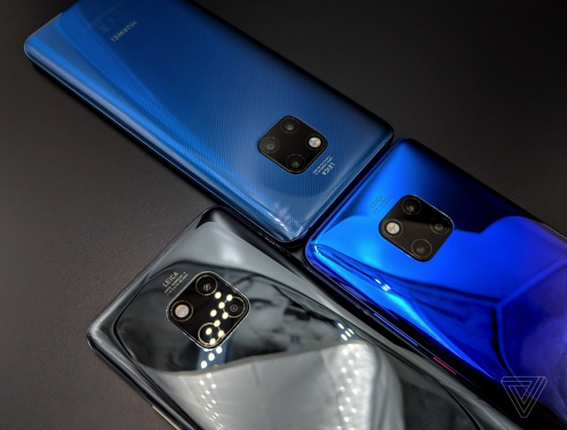 Huawei Unveils Powerful New 'Mate 20 Pro' Flagship Smartphone