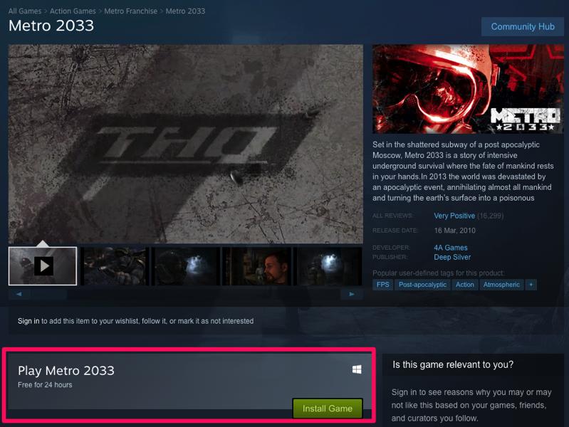 2033 steam free
