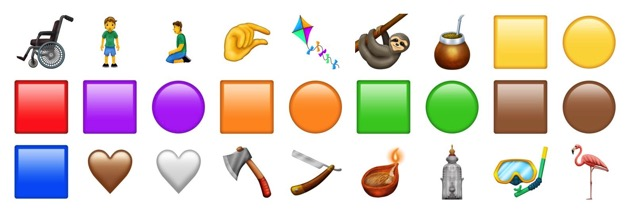 Emoji 12 candidates emojipedia