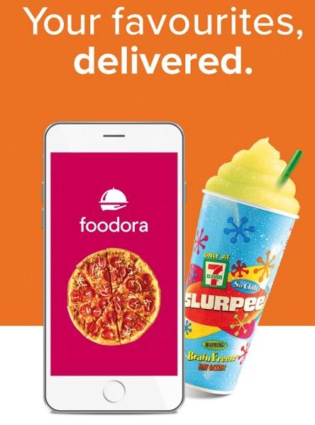 Foodora 7 eleven