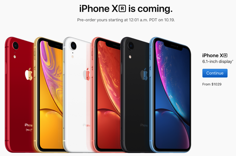 Iphone xr pre orders canada