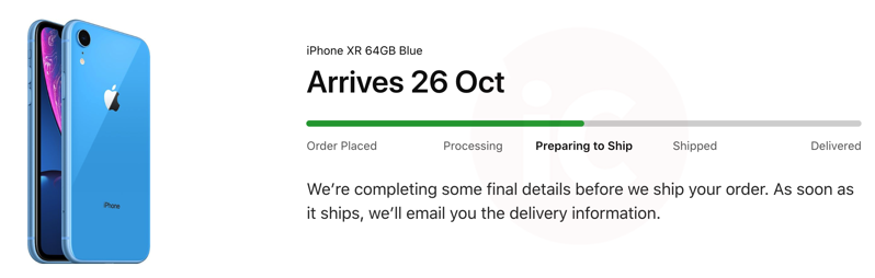 Iphone xr shipping canada