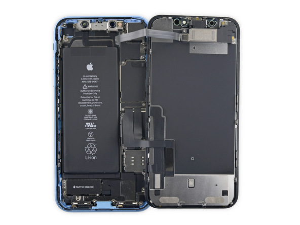 Iphone xr teardown ifixit1
