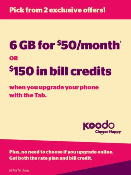 how to pay koodo bill